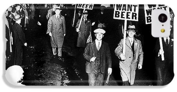 We Want Beer IPhone 5c Case by Jon Neidert