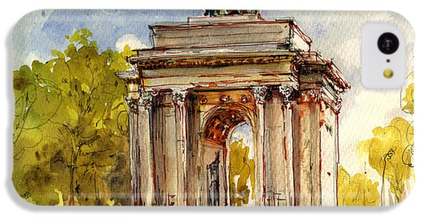 Wellington Arch IPhone 5c Case by Juan  Bosco