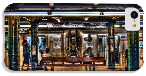 London Tube iPhone 5c Case - West 4th Street Subway by Randy Aveille