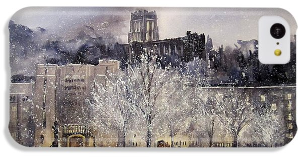 West Point Winter IPhone 5c Case by Sandra Strohschein