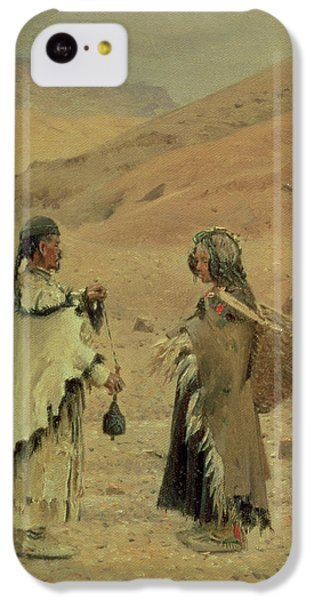 West Tibetans, 1875 Oil On Canvas IPhone 5c Case