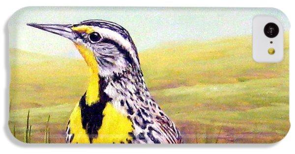 Western Meadowlark IPhone 5c Case by Tom Chapman