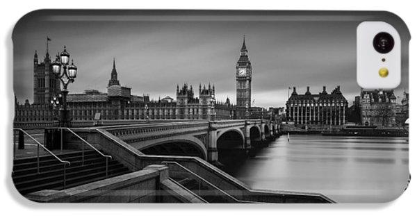 Big Ben iPhone 5c Case - Westminster Bridge by Oscar Lopez