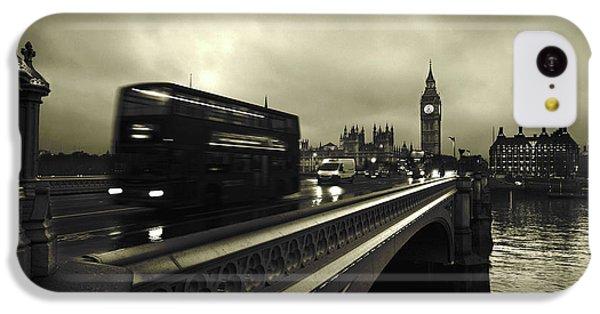 Big Ben iPhone 5c Case - Westminster Bridge by Scott Lanphere