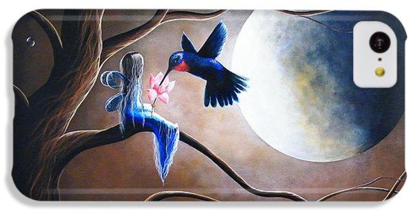 Humming Bird iPhone 5c Case - What Love Looks Like By Shawna Erback by Erback Art