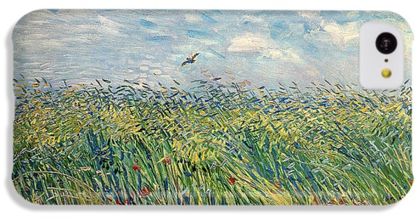 Impressionism iPhone 5c Case - Wheatfield With Lark by Vincent van Gogh