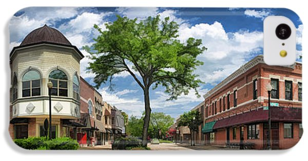 Wheaton Front Street Panorama IPhone 5c Case by Christopher Arndt