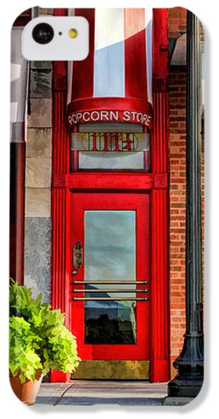 Wheaton Little Popcorn Shop Panorama IPhone 5c Case by Christopher Arndt