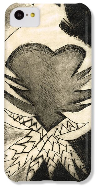 White Dove Art - Comfort - By Sharon Cummings IPhone 5c Case by Sharon Cummings