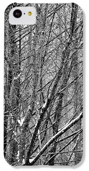 IPhone 5c Case featuring the photograph White Forest by Marc Philippe Joly