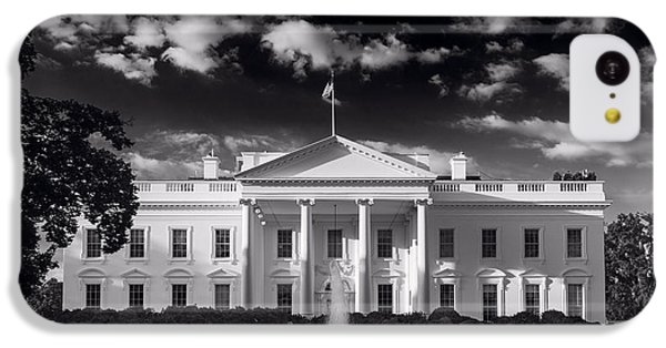 White House Sunrise B W IPhone 5c Case