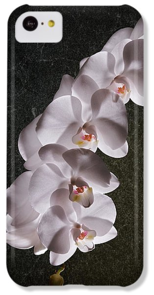 White Orchid Still Life IPhone 5c Case by Tom Mc Nemar