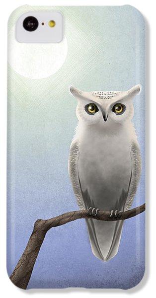 White Owl IPhone 5c Case