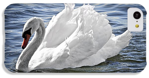 White Swan On Water IPhone 5c Case