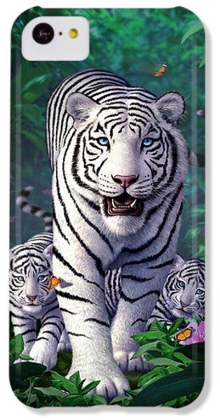 White Tigers IPhone 5c Case