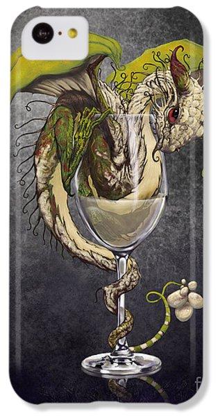 White Wine Dragon IPhone 5c Case