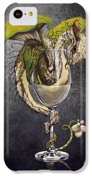 Dragon iPhone 5c Case - White Wine Dragon by Stanley Morrison