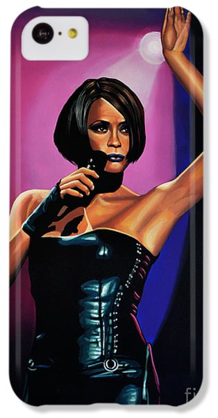 Rhythm And Blues iPhone 5c Case - Whitney Houston On Stage by Paul Meijering