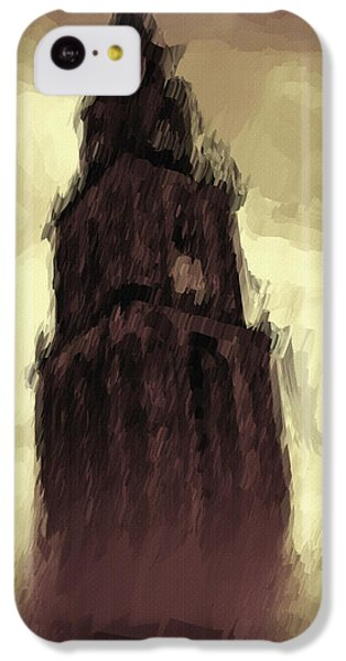 Dungeon iPhone 5c Case - Wicked Tower by Inspirowl Design