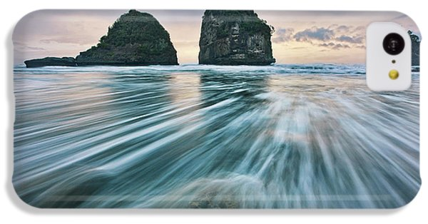 Flow iPhone 5c Case - Wild West Coast by Yan Zhang