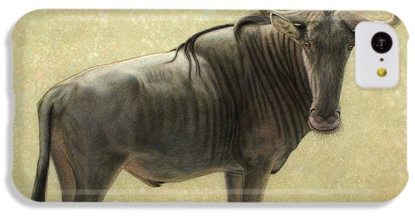 Bull iPhone 5c Case - Wildebeest by James W Johnson