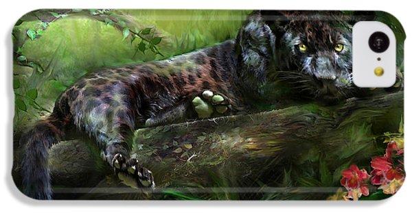 Wildeyes - Panther IPhone 5c Case by Carol Cavalaris