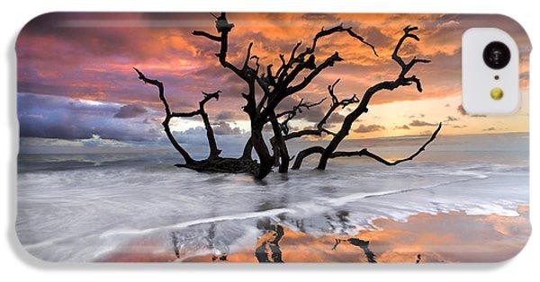 Beautiful Sunrise iPhone 5c Case - Wildfire by Debra and Dave Vanderlaan