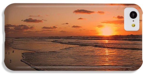 Wildwood Beach Sunrise II IPhone 5c Case