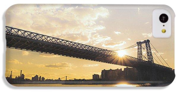 Williamsburg Bridge - Sunset - New York City IPhone 5c Case