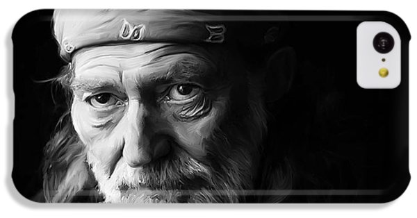 Universities iPhone 5c Case - Willie Nelson by Paul Tagliamonte