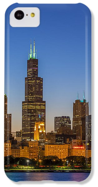 Willis Tower IPhone 5c Case by Sebastian Musial