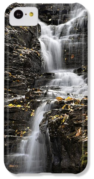 Winding Waterfall IPhone 5c Case by Christina Rollo