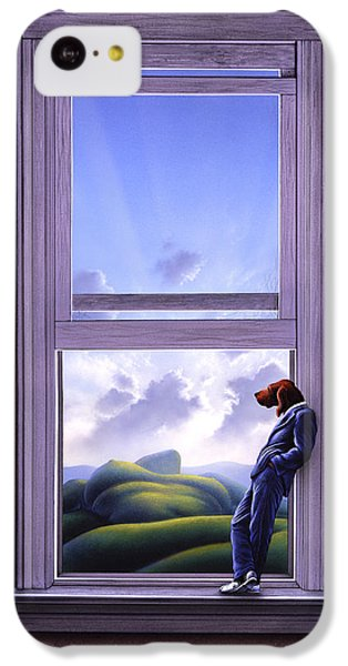 Surrealism iPhone 5c Case - Window Of Dreams by Jerry LoFaro