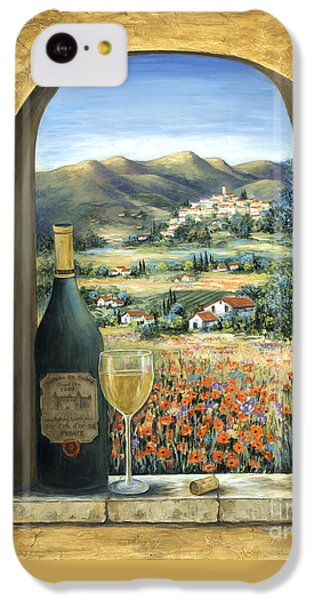 Wine And Poppies IPhone 5c Case