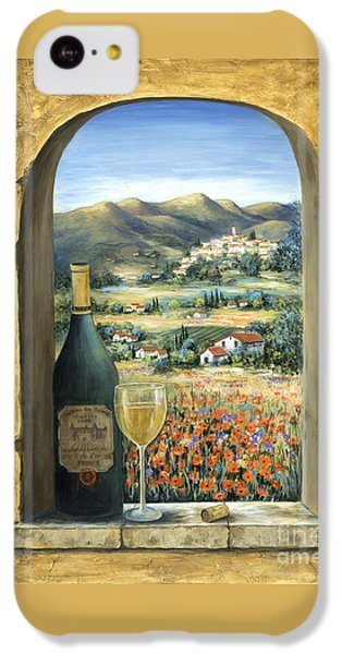 Wine And Poppies IPhone 5c Case by Marilyn Dunlap