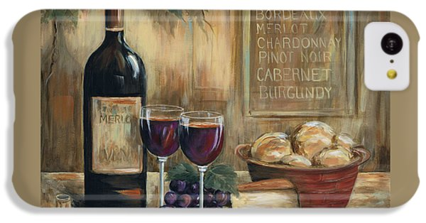 Wine For Two IPhone 5c Case by Marilyn Dunlap