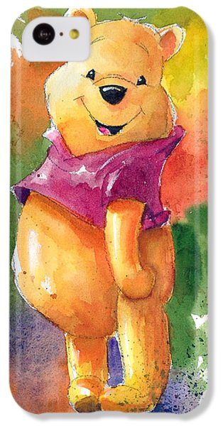 The iPhone 5c Case - Winnie The Pooh by Andrew Fling
