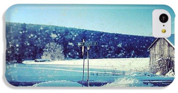 Winter Days IPhone 5c Case