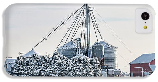 Winter Farm  7365 IPhone 5c Case by Jack Schultz