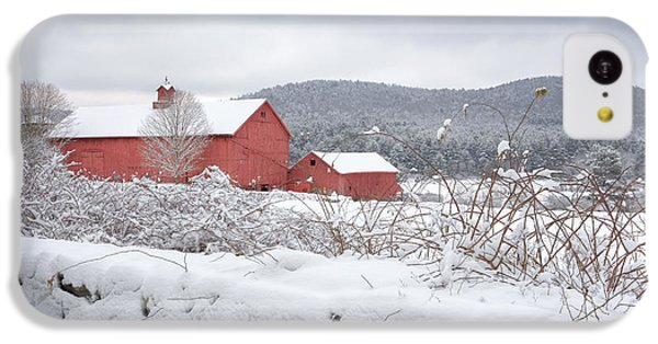 Winter In Connecticut IPhone 5c Case by Bill Wakeley