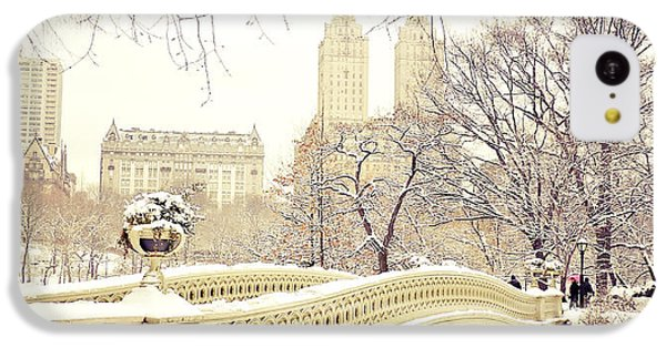 Winter - New York City - Central Park IPhone 5c Case by Vivienne Gucwa