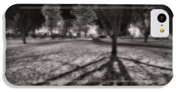 Winter Shadows And Xmas Lights IPhone 5c Case by Sven Brogren