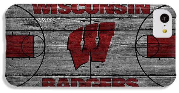 Wisconsin Badger IPhone 5c Case by Joe Hamilton
