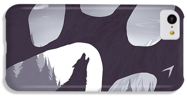 Wolf Paw IPhone 5c Case
