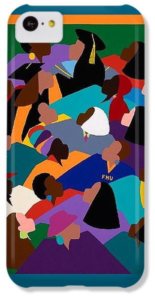 iPhone 5c Case - Women Lifting Their Voices by Synthia SAINT JAMES