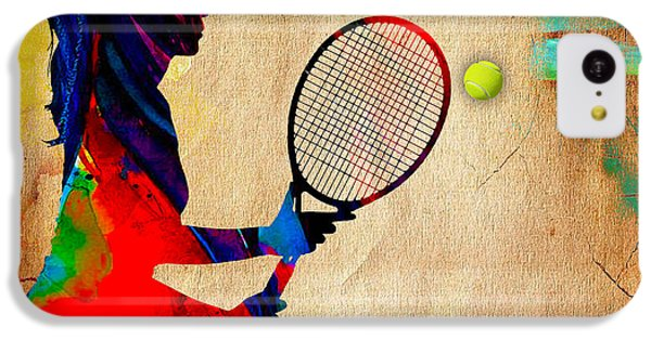 Womens Tennis IPhone 5c Case by Marvin Blaine