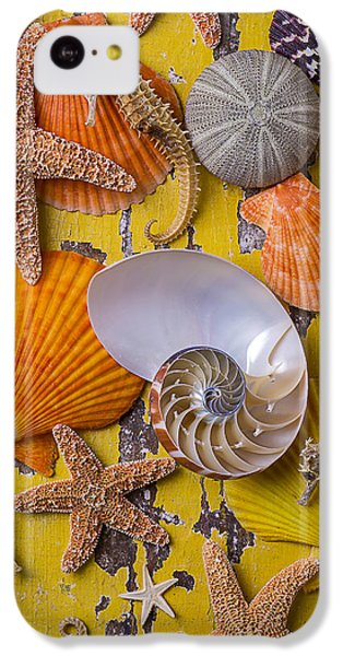 Wonderful Sea Life IPhone 5c Case by Garry Gay