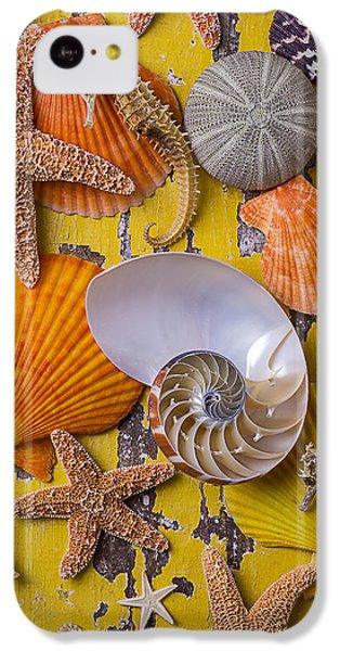 Wonderful Sea Life IPhone 5c Case by Garry Gay