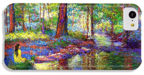 Figurative iPhone 5c Case - Woodland Rapture by Jane Small