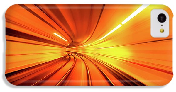 London Tube iPhone 5c Case - Wormhole by Alfred Myers
